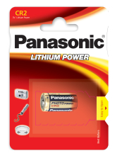 Panasonic CR2 batteri, 1 stk.