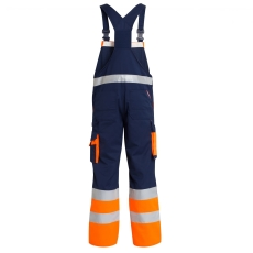 FE Engel EN 20471 marine/orange overall, klasse 1, str. 100