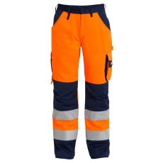 FE Engel buks 2501, EN 20471 orange/marine, str. 100