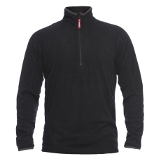 FE Engel MIDLAYER fleecetrøje 8018, sort, str. L